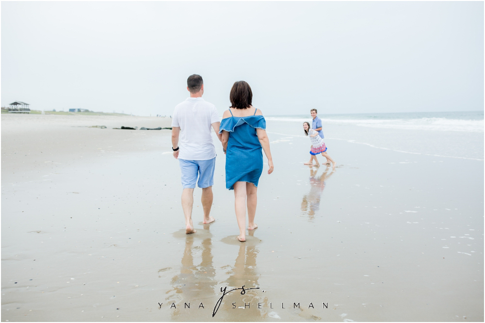 Beach Haven Family Photo Session captured by North Beach LBI Photographer - Dave+Debra Family Photos