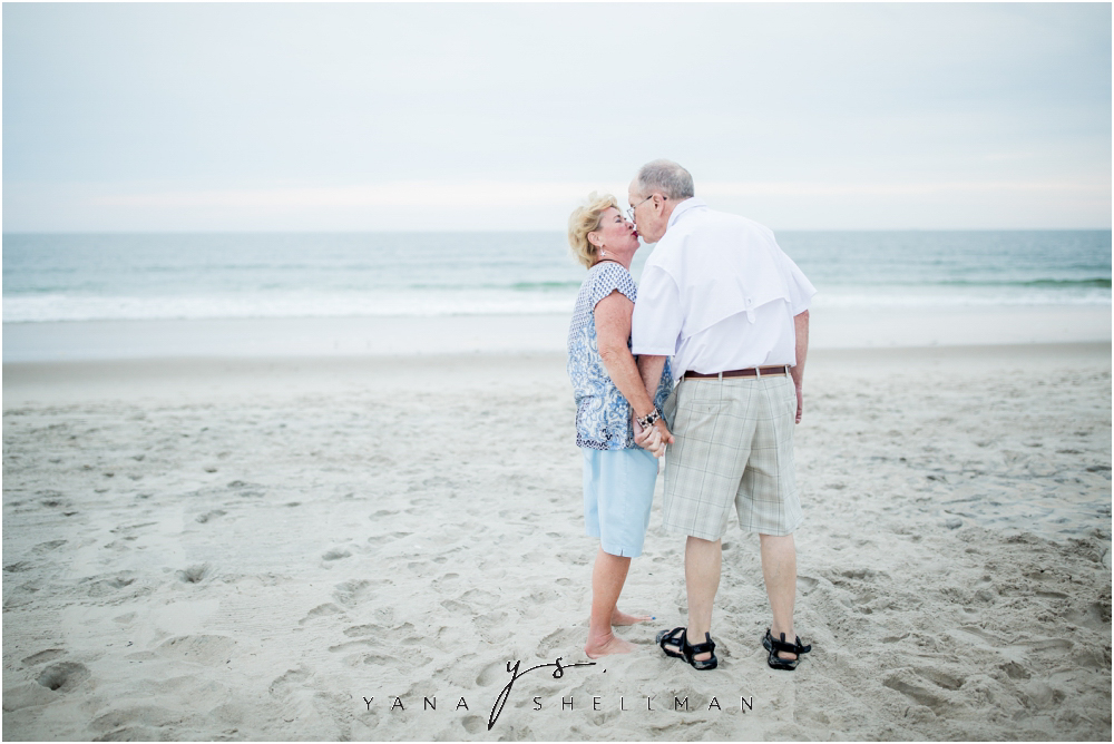 Beach Haven Family Photo Session captured by North Beach LBI family Photographers - Linda+Tom Family Photos