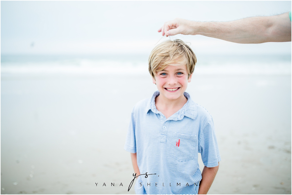 Beach Haven Family Photo Session captured by Mt Laurel Photographer - Tom+Debra Family Photos