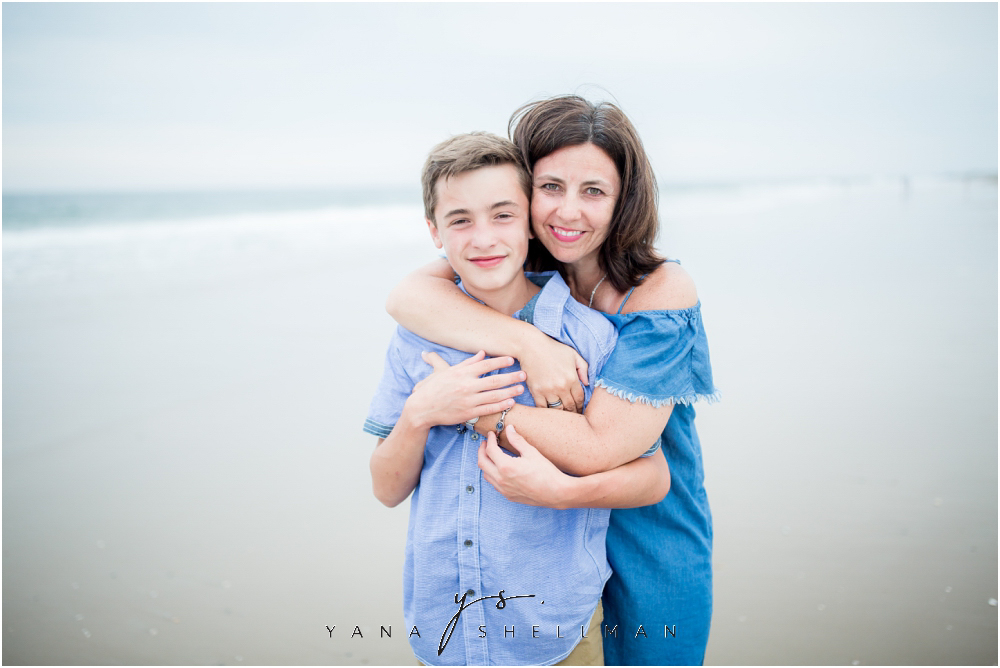 Beach Haven Family Photo Session captured by North Beach LBI family Photographer - Dave+Debra Family Photos