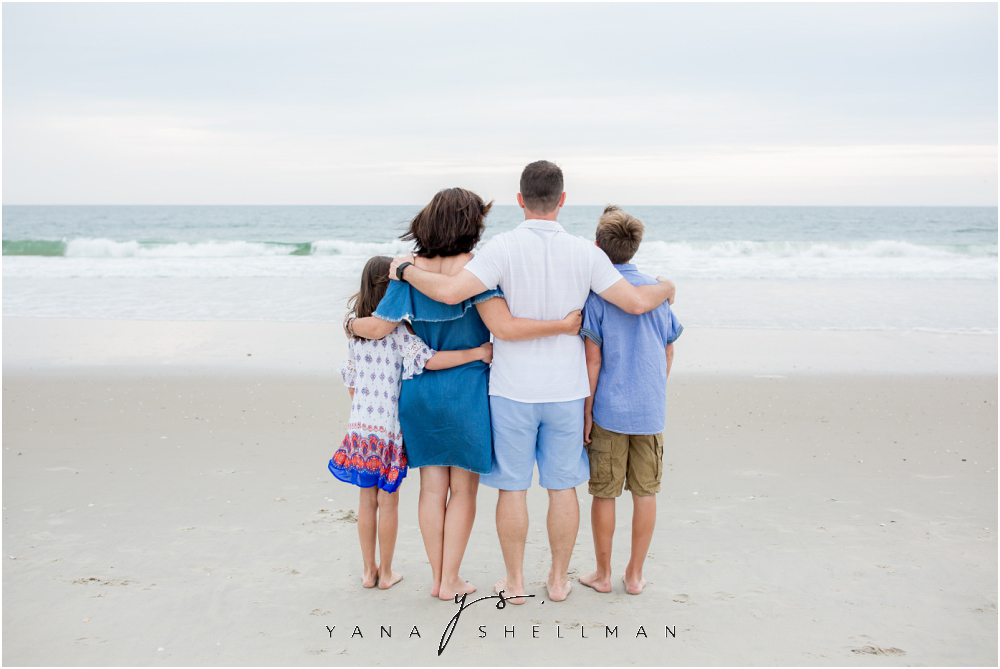 Beach Haven Family Photo Session captured by Beach Haven Photographers - Dave+Debra Family Photos