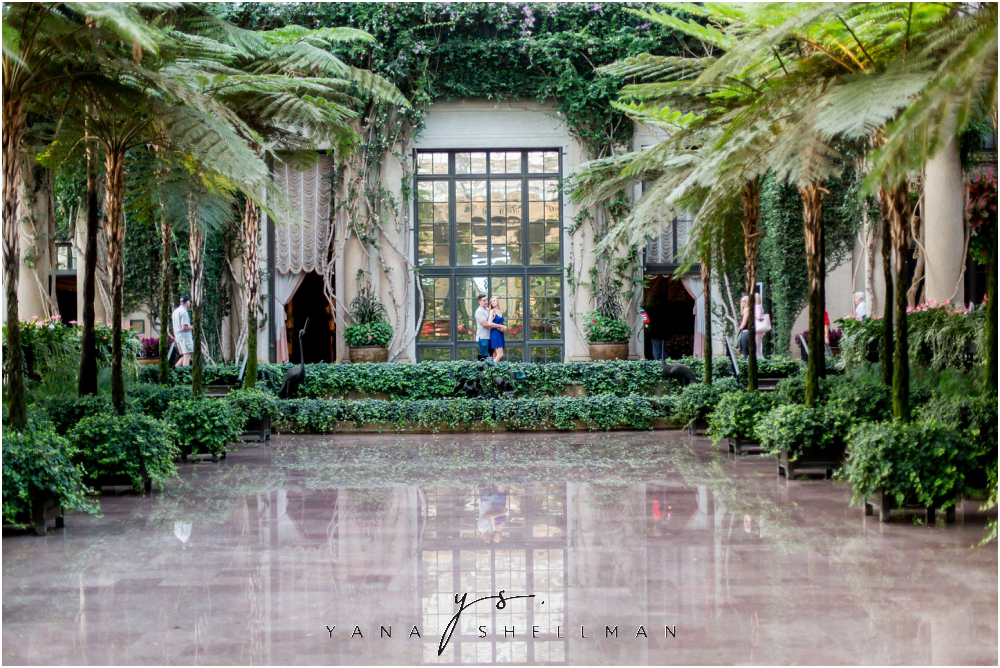 Longwood Gardens Engagement Photo Session by Center City Philadelphia Wedding Photographers - Christina+Garret Engagement Session