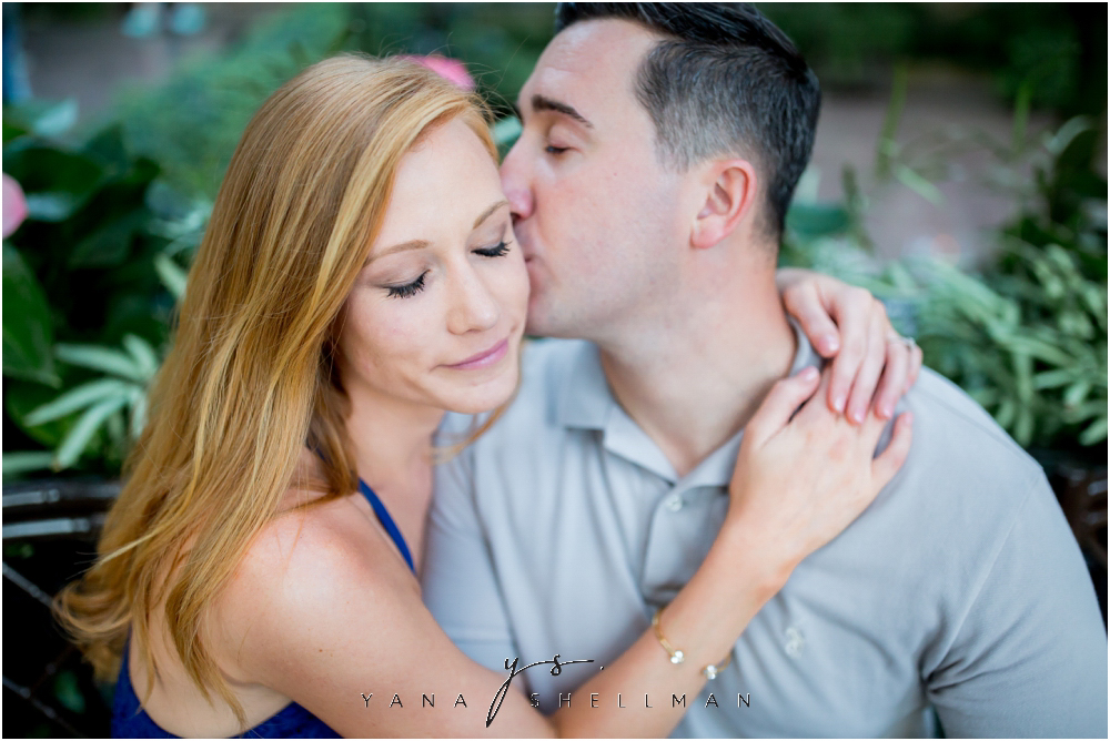 Longwood Gardens Engagement Photo Session by the best Center City Philadelphia Wedding Photographers - Christina+Garret Engagement Session