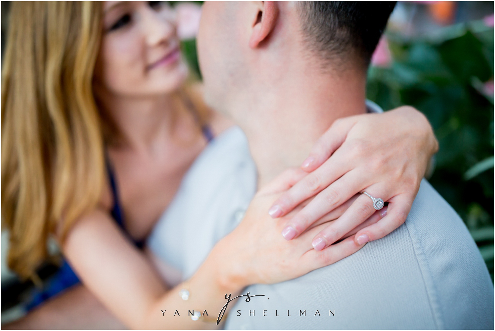 Longwood Gardens Engagement Photo Session by Cherry Hill Wedding Photographer - Christina+Garret Engagement Session