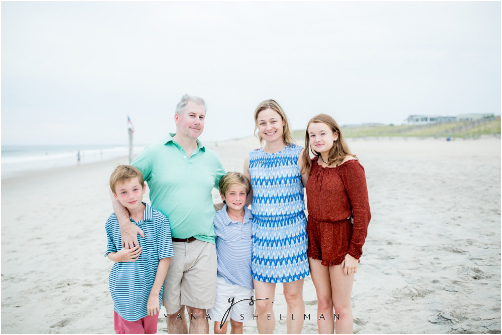 Beach Haven Family Photo Session captured by LBI Photographer - Tom+Debra Family Photos