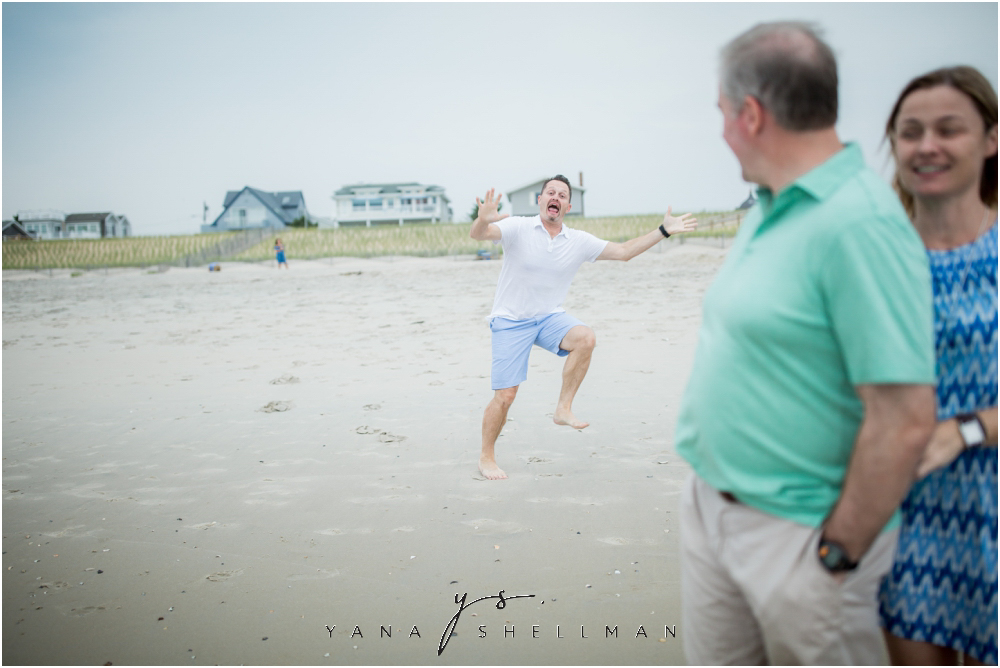 Beach Haven Family Photo Session captured by Marlton Family Photographer - Tom+Debra Family Photos