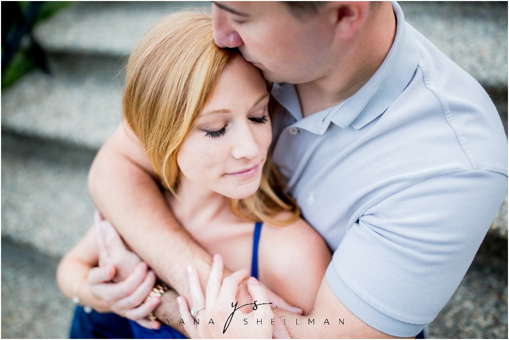 Longwood Gardens Engagement Photo Session by Marlton Wedding Photographer - Christina+Garret Engagement Session