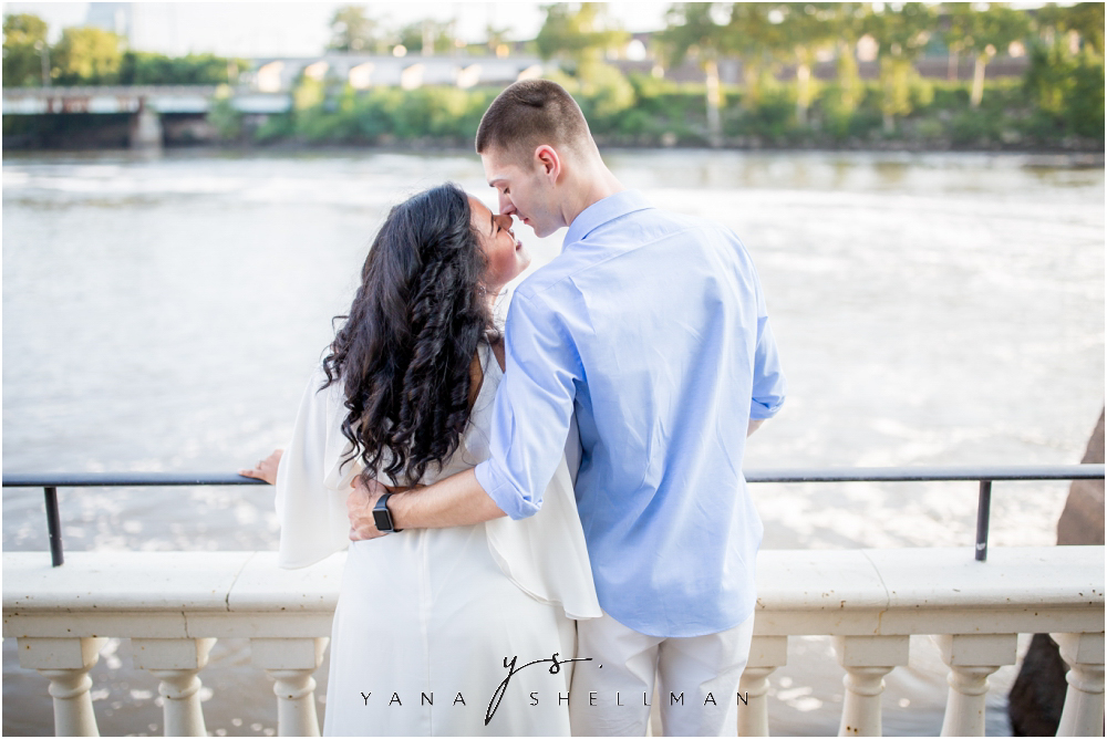 Philadelphia Waterworks Engagement Photo Session by the best South Jersey Wedding Photographers - Cara+George Engagement Photos