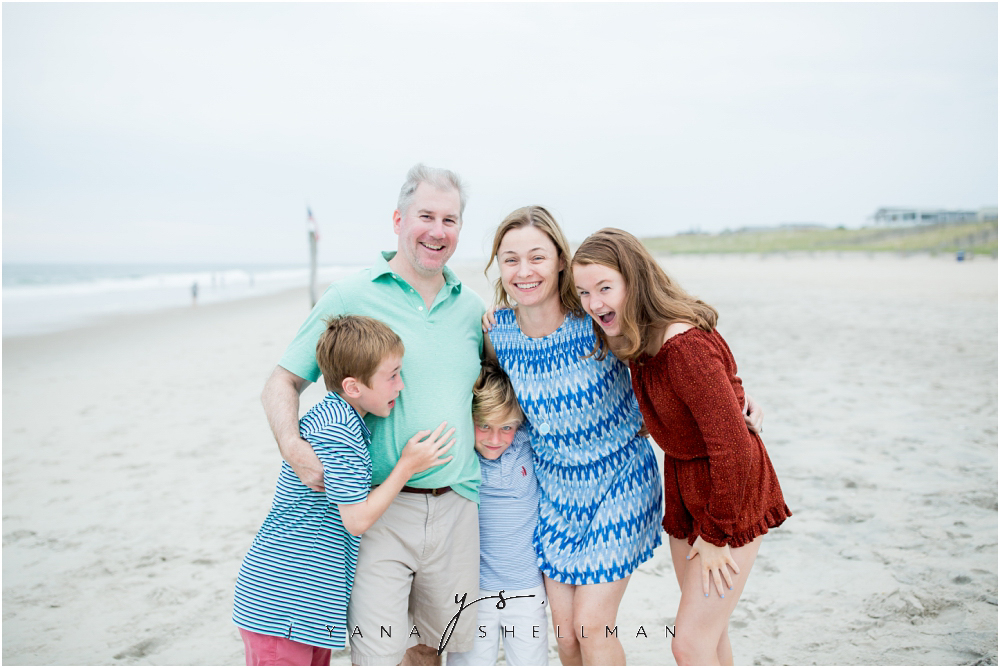 Beach Haven Family Photo Session captured by LBI Photographers - Tom+Debra Family Photos
