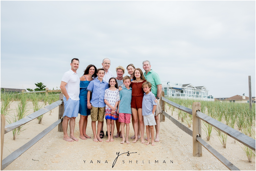 Beach Haven Family Photo Session captured by the best LBI Photographers - Linda+Tom Family Photos