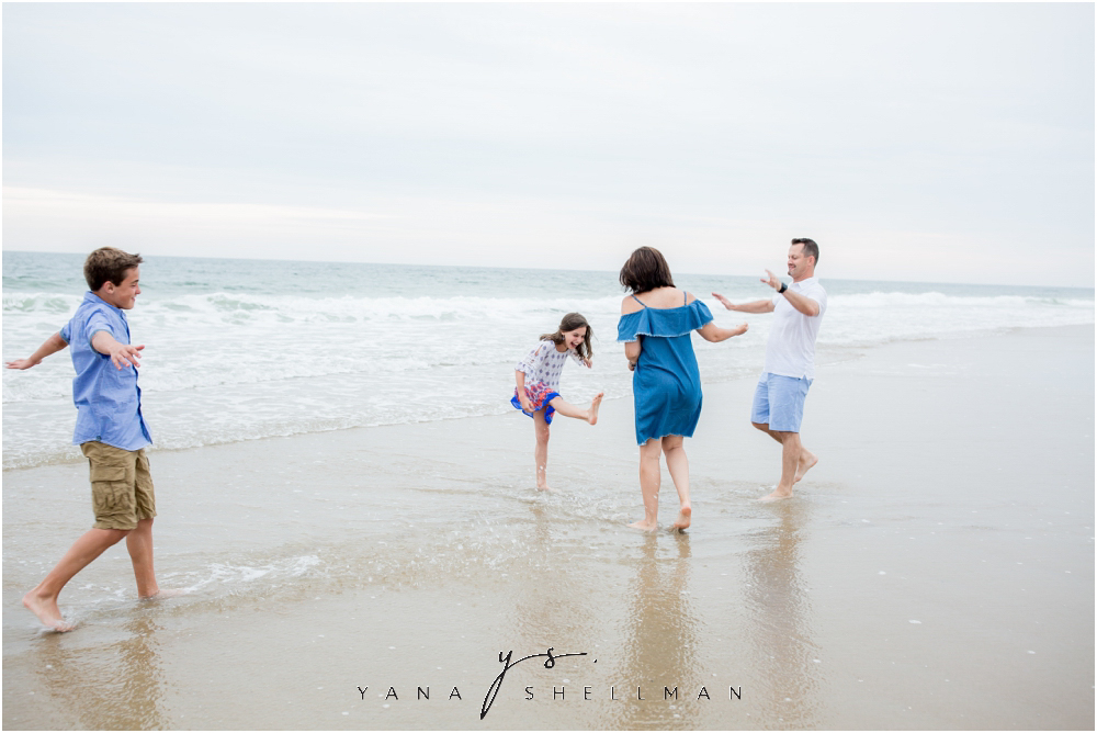 Beach Haven Family Photo Session captured by LBI Photographer - Dave+Debra Family Photos
