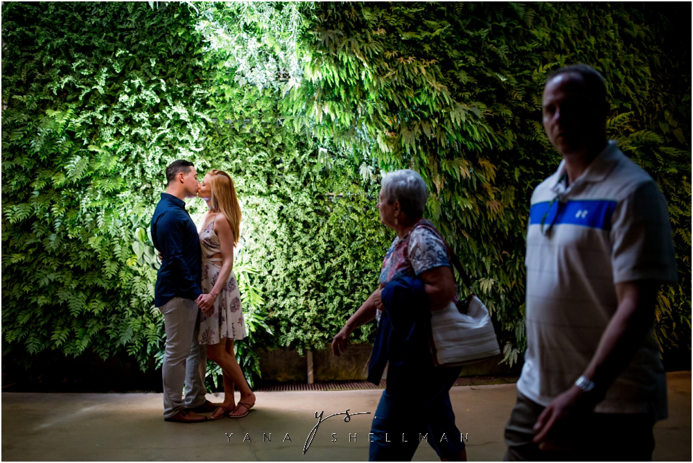 Longwood Gardens Engagement Photo Session by the best LBI Wedding Photographers - Christina+Garret Engagement Session