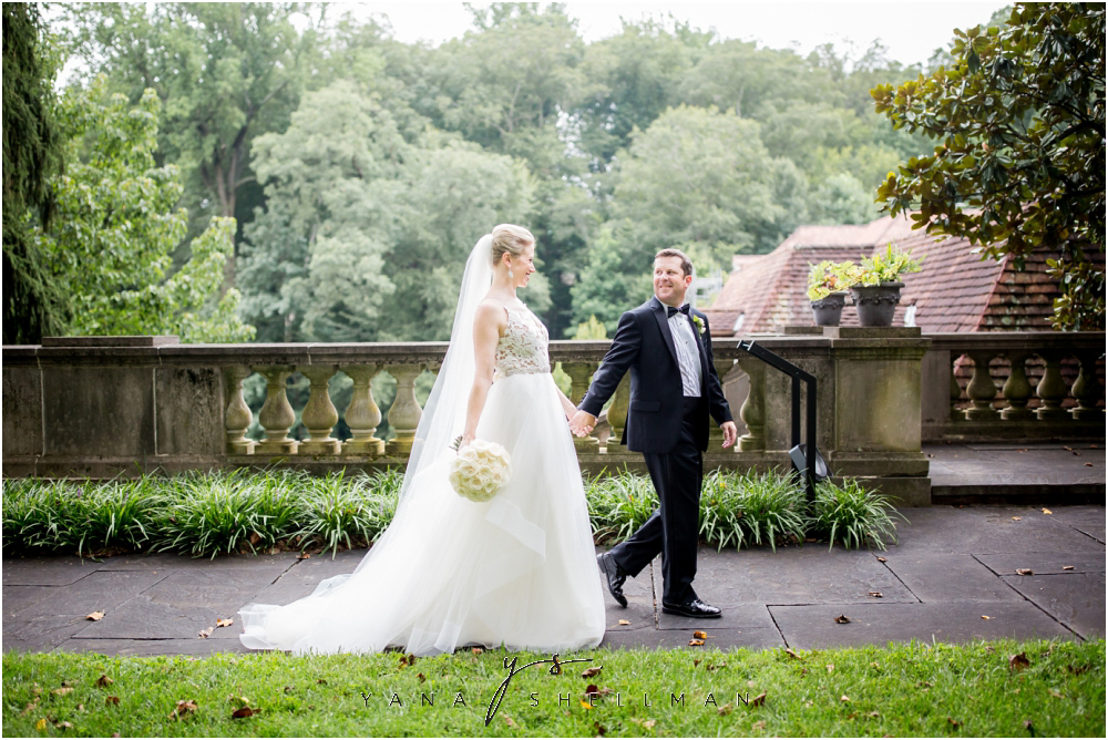 Winterthur Museum Wedding capture by Moorestown Wedding Photographer - Carie+Kevin Wedding Photos