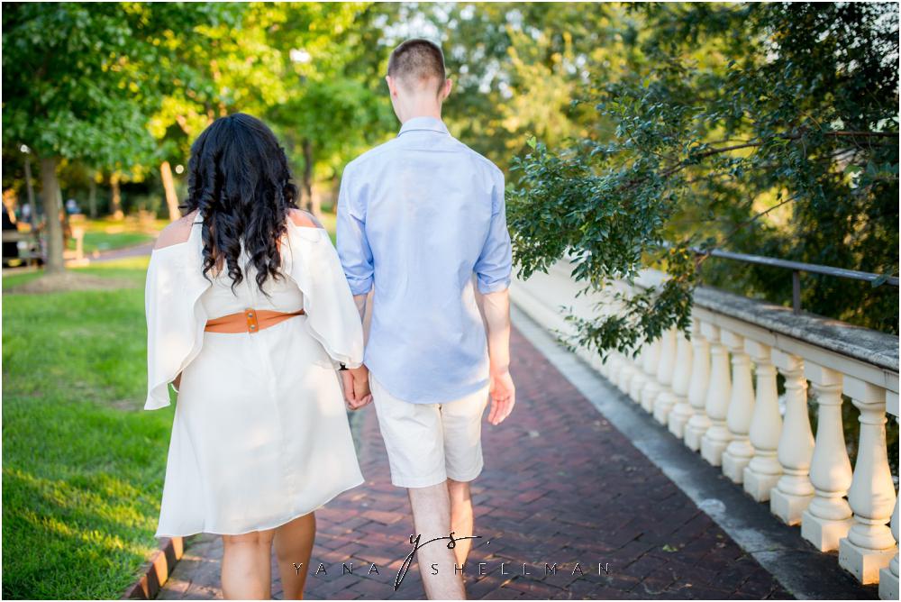 Philadelphia Waterworks Engagement Photo Session by Center City Philly Wedding Photographers - Cara+George Engagement Photos