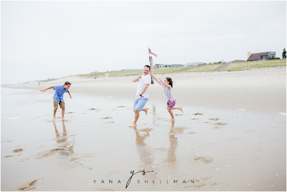 Beach Haven Family Photo Session captured by LBI Photographers - Dave+Debra Family Photos