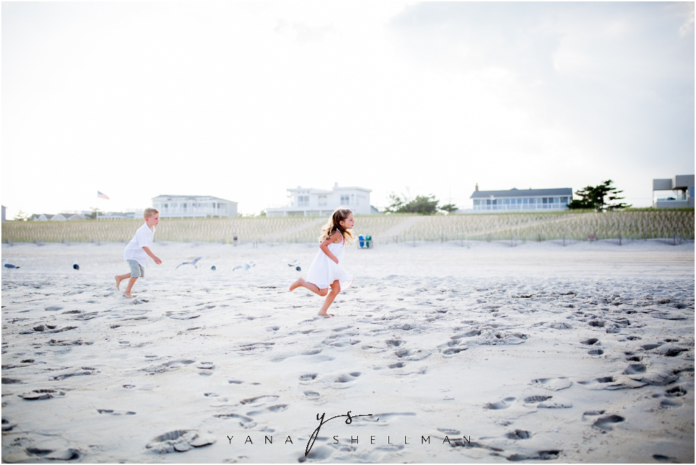 North Beach LBI Family Photo session captured by Long Beach Island Photographers - Sue, James family photos
