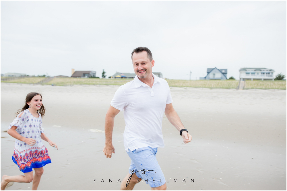 Beach Haven Family Photo Session captured by LBI family Photographer - Dave+Debra Family Photos
