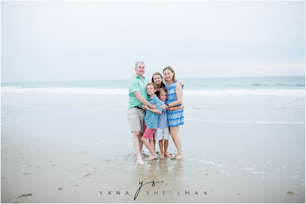 Beach Haven Family Photo Session captured by Beach Haven Family Photographers - Tom+Debra Family Photos