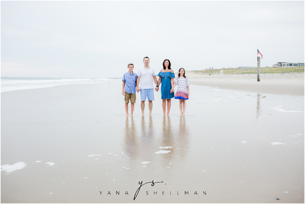 Beach Haven Family Photo Session captured by LBI family Photographers - Dave+Debra Family Photos