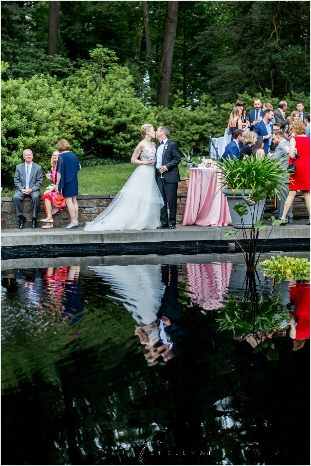 Winterthur Museum Wedding capture by the best Vineland Wedding Photographer - Carie+Kevin Wedding Photos