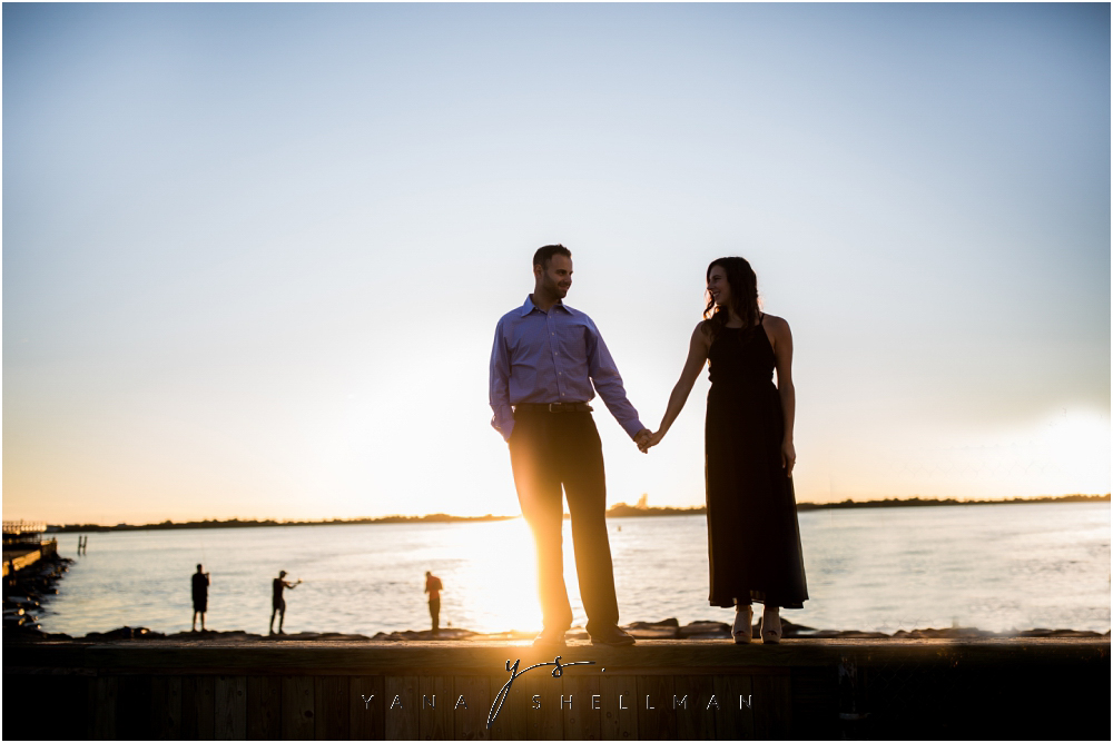 Barnegat Lighthouse Wedding Pictures By Philly Photographers Brittany Ben Engagement