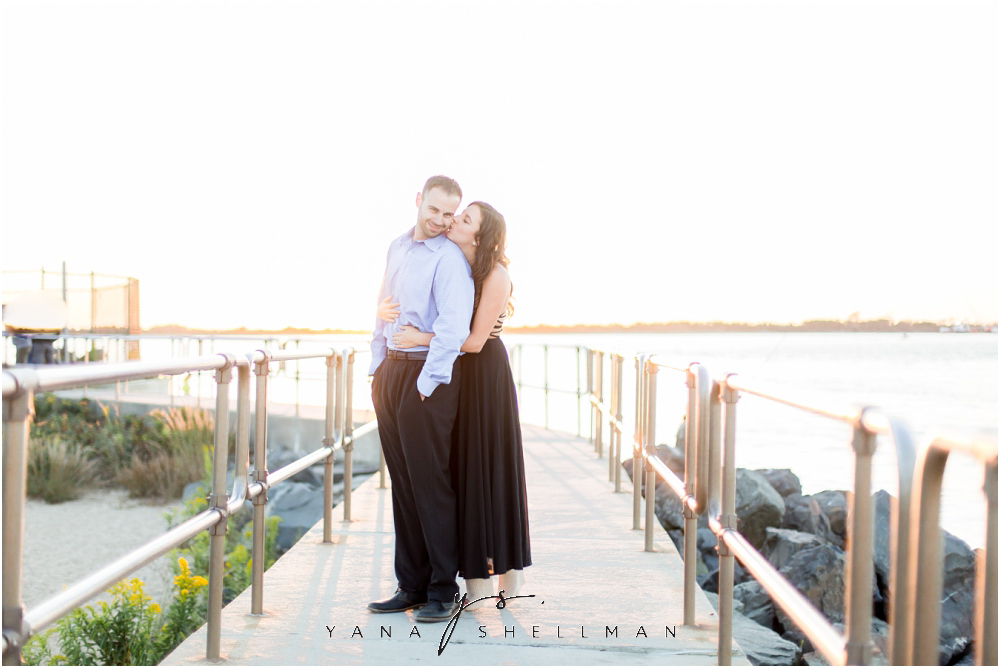 Barnegat Lighthouse Wedding Pictures By Lumberton Photographers Brittany Ben Engagement
