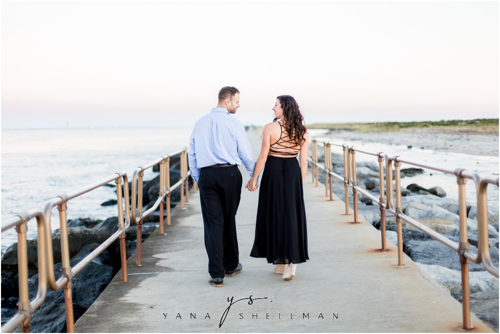 Barnegat Lighthouse Wedding Pictures By The Best Long Beach Island Photographer Brittany Ben Engagement