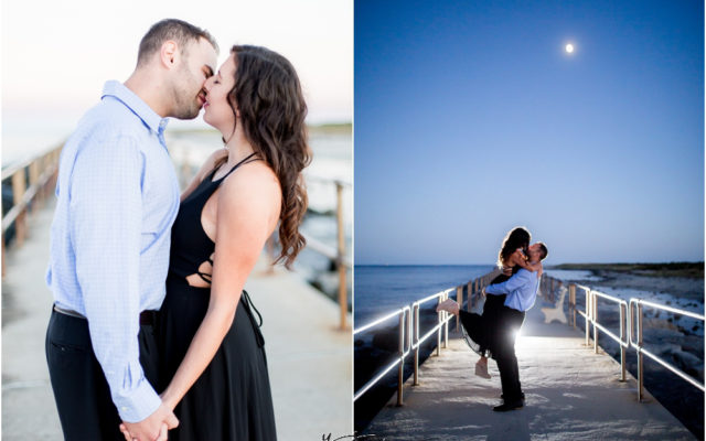 Barnegat Lighthouse Wedding Pictures by the best Philly Wedding Photographer - Brittany+Ben Engagement