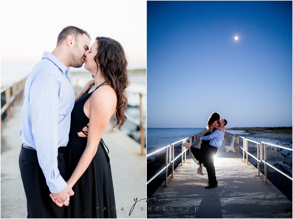 Barnegat Lighthouse Wedding Pictures By The Best Philly Photographer Brittany Ben Engagement
