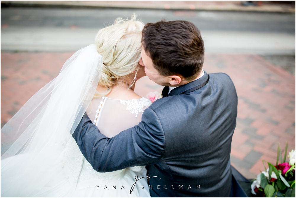 Magnolia Park Philadelphia Intimate Wedding by the best South Philly Wedding Photographer - Jessica+George Wedding