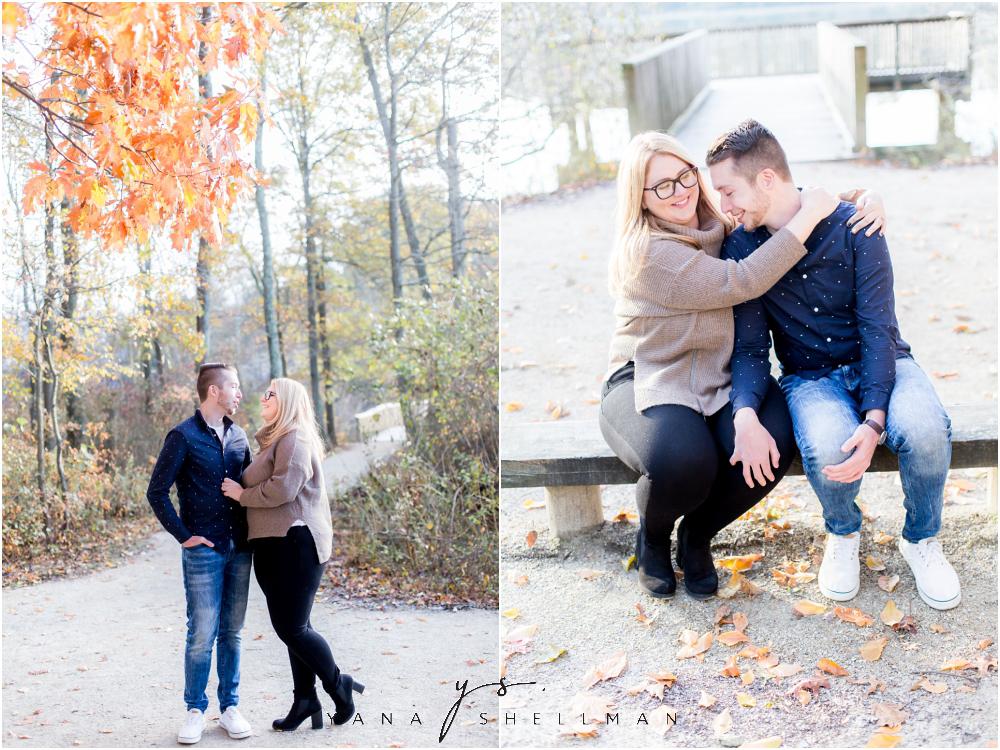 Historic Smithville Mansion Engagement by Deptford Wedding Photographer - Caitlin+Josh Photos