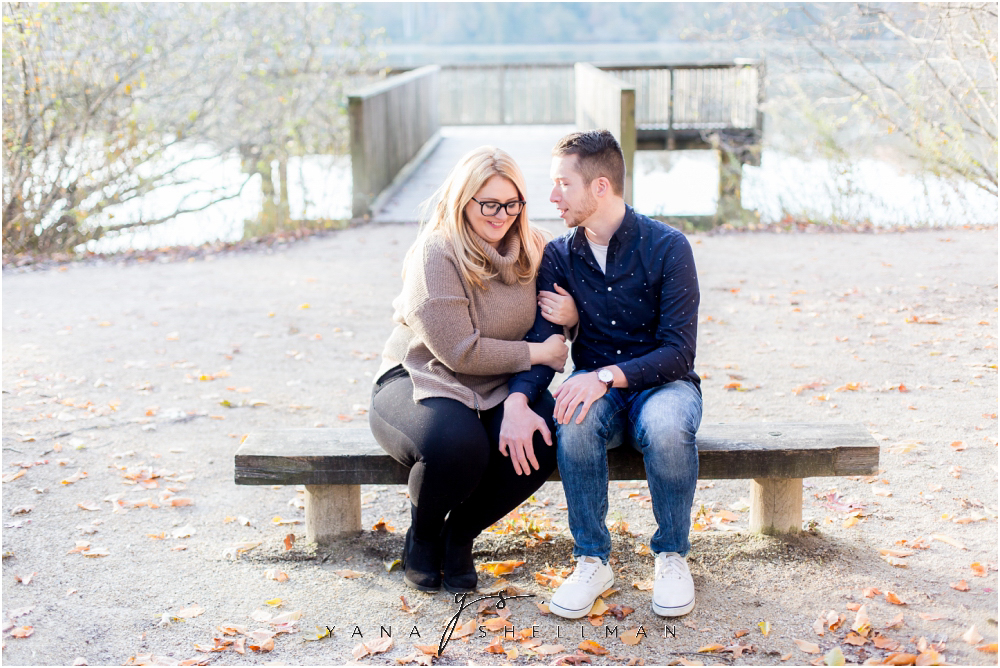 Historic Smithville Mansion Engagement by Ocean City Wedding Photographer - Caitlin+Josh Photos