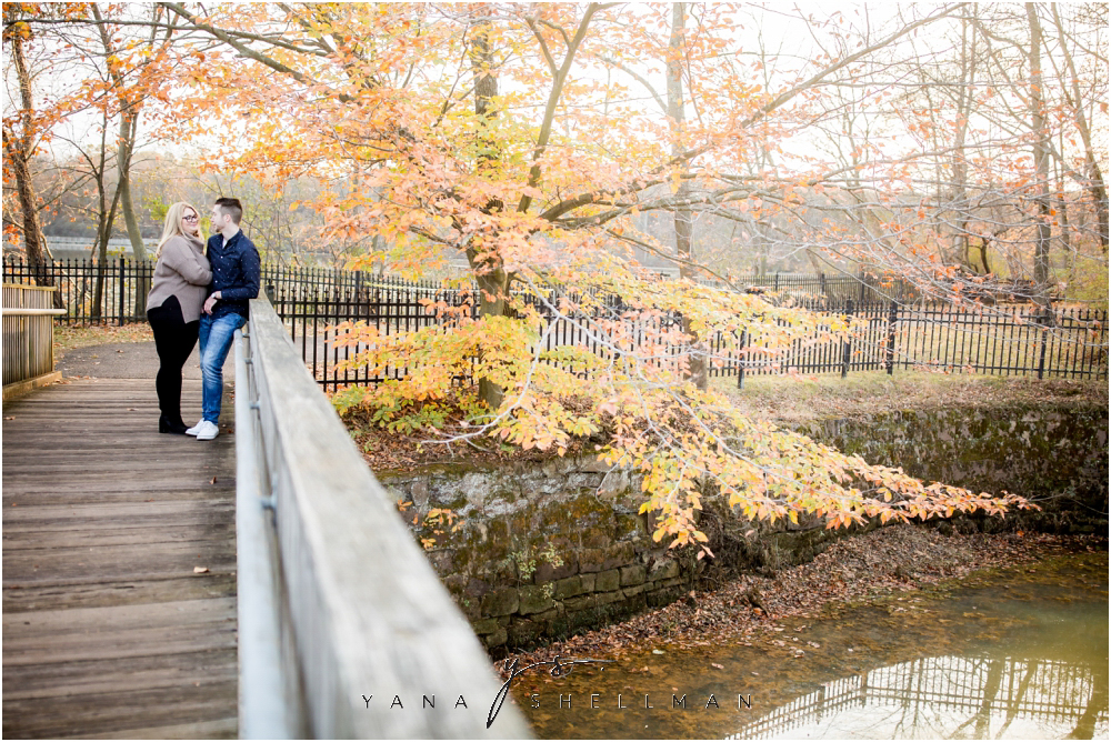 Historic Smithville Mansion Engagement by West Chester Wedding Photographer - Caitlin+Josh Photos