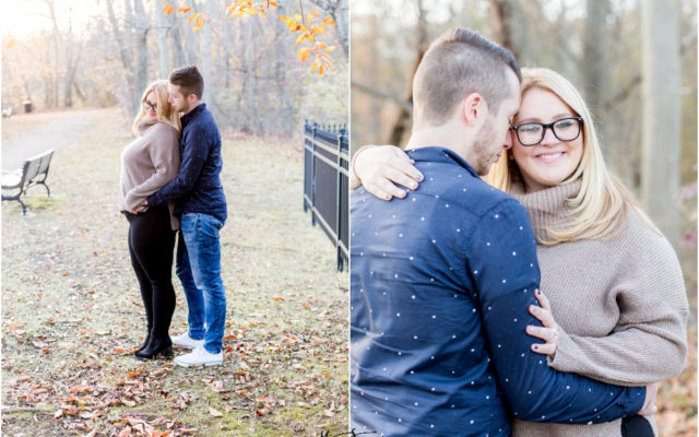 Historic Smithville Mansion Engagement by North East Philly Wedding Photographer - Caitlin+Josh Photos