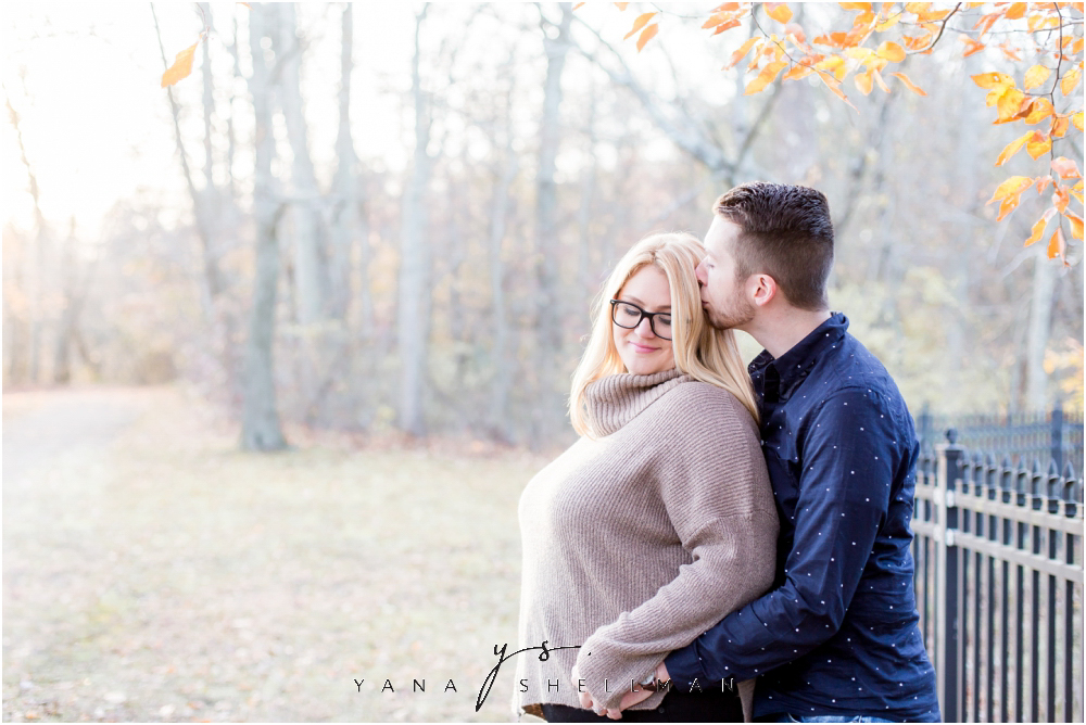 Historic Smithville Mansion Engagement by Old Cty Philly Wedding Photographer - Caitlin+Josh Photos