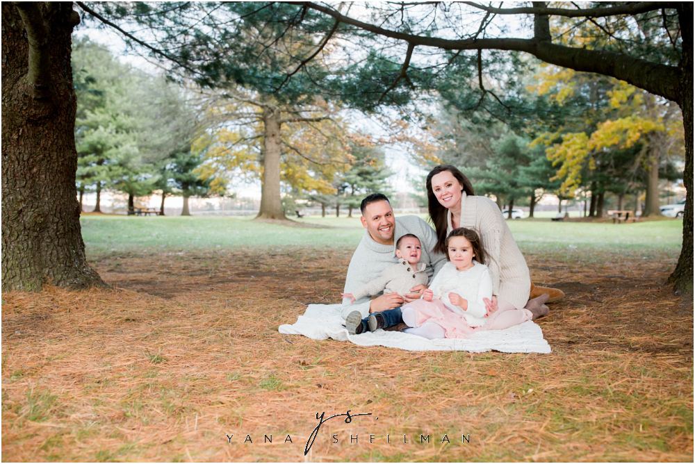 Historic Smithville Park Family Photo Session by Voorhees Family Photographer - Vika+Chris