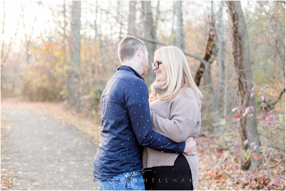 Historic Smithville Mansion Engagement by Voorhees Wedding Photographer - Caitlin+Josh Photos