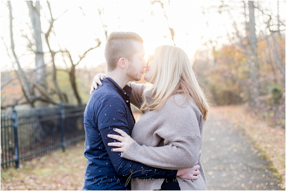 Historic Smithville Mansion Engagement by New Jersey Wedding Photographer - Caitlin+Josh Photos