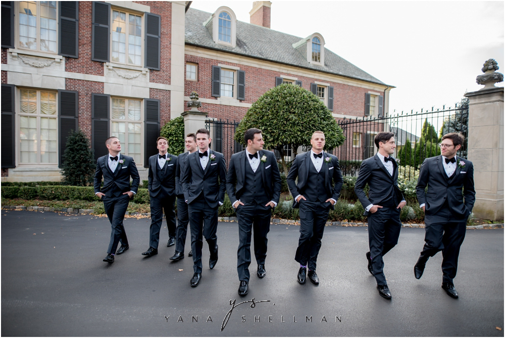 Overbrook Golf Club Wedding Pictures by New Hope Wedding Photographers - Michelle+Matt Wedding