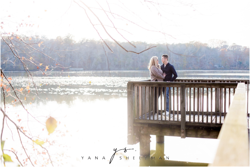 Historic Smithville Mansion Engagement by Medford Wedding Photographer - Caitlin+Josh Photos
