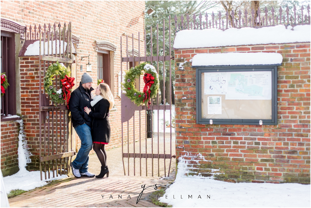 Historic Smithville Engagement Photo Session by South Jersey Wedding Photographer - Nicolle+Matt Engagement