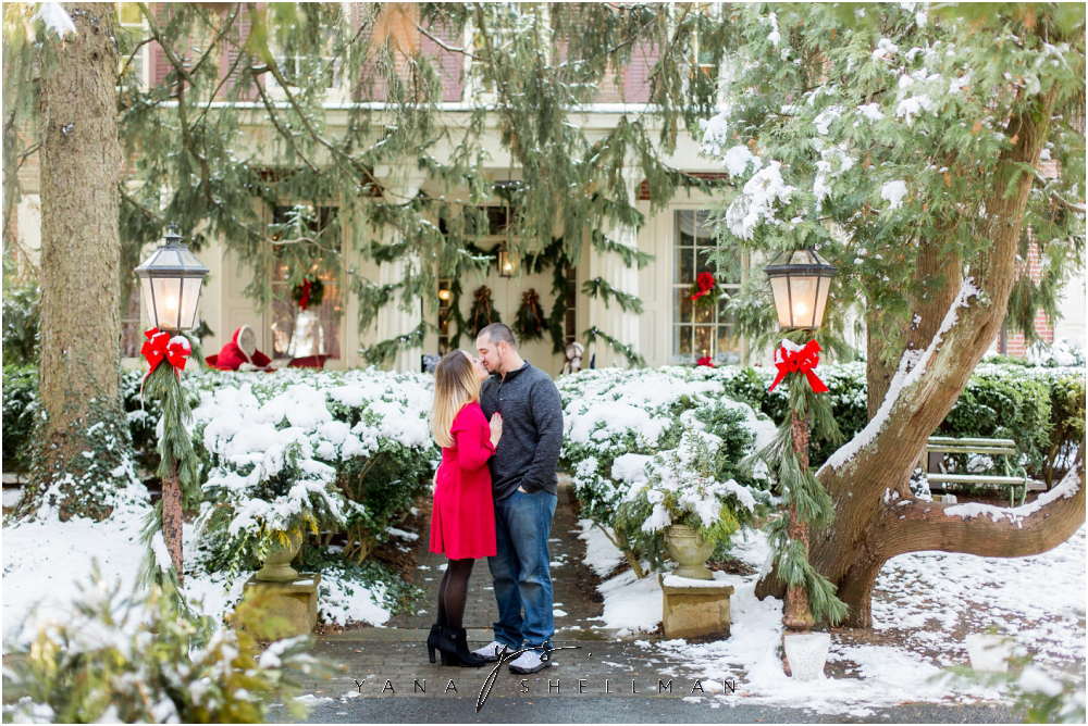 Historic Smithville Engagement Photo Session by South Jersey Wedding Photographers - Nicolle+Matt Engagement