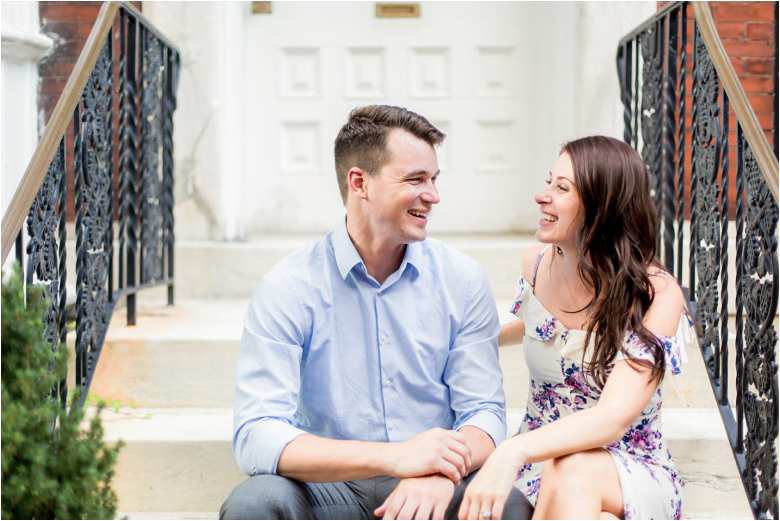 Engagement Photos by Old City Philly Wedding Photographers