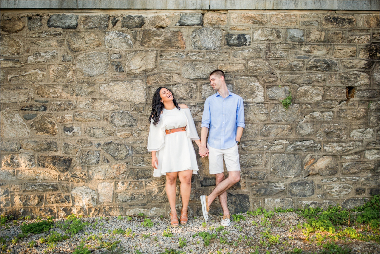 Engagement Photos by South Jersey Wedding Photographers