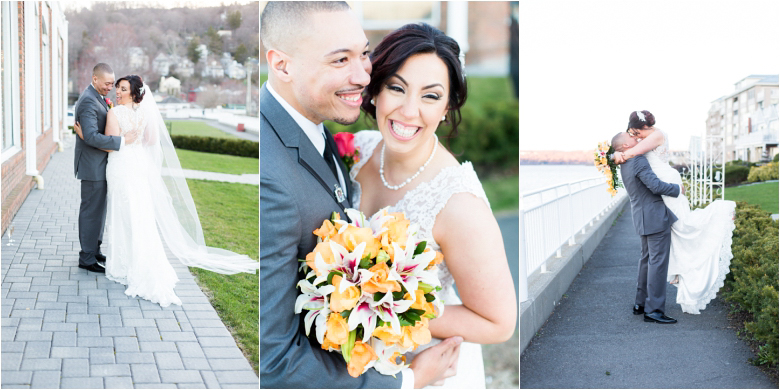 View on a Hudson Wedding Photos by South Jersey Wedding Photographers