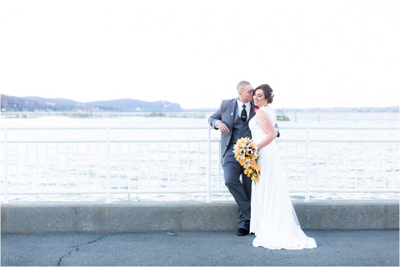 View on a Hudson Wedding Photos by the best South Jersey Wedding Photographer