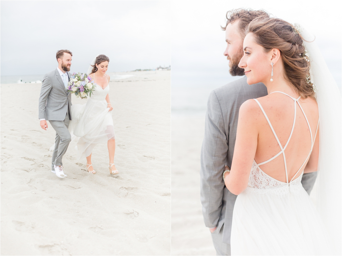 Beach Club Of Cape May Wedding Photos By South Jersey Wedding